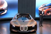 """宝马今年将推两款插电式新车 亚洲首秀""""下一个百年""""概念车"""