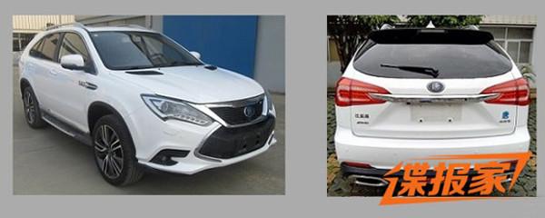 最快国产SUV再升级 比亚迪唐100申报图曝光