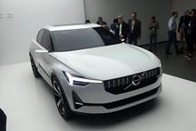全新40系列雏形 沃尔沃两款概念车发布