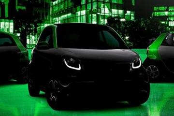 全新smart将在巴黎车展首发 三款都是纯电动