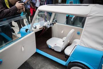 日本发布涤纶微型电动车 2017年可上市
