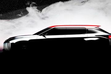 三菱将在10月巴黎车展正式发布一款新的插电混动SUV