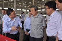 马凯副总理在陕西调研 莅临比亚迪和法士特指导工作