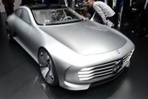 剑指特斯拉MODEL S 奔驰推新纯电动轿车