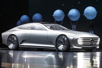 梅赛德斯奔驰全新电动轿车 单次充电续航可达250英里