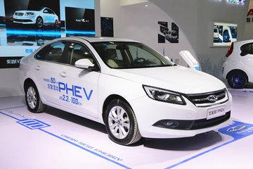 纯电与插电并举 奇瑞eQ与艾瑞泽7e登陆新能源汽车交易展