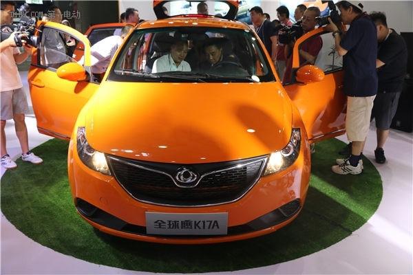 康迪全球鹰K17A上海上市 7.98万包牌价强势开售