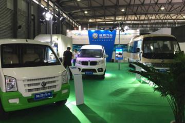 陆地方舟多款电动商用车新品登陆新能源汽车上海交易展