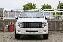 """体验悍马""""近亲""""卡威EV1 最硬汉纯电动SUV静态测评"""