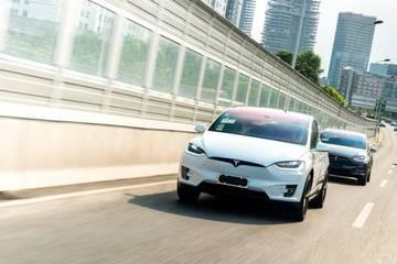亚太区首次特斯拉Model X城市巡游 全国消费者试驾开启