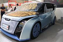 首次公布智能出行管理系统  汉能再携两车型亮相上海智慧交通展