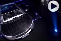 中国的太阳能汽车续航350公里 似乎开车不要钱了