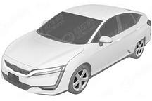 本田Clarity燃料电池汽车申报图曝光 叫板丰田Mirai