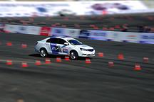 有颜值有实力 中国量产车性能大赛(CCPC)帝豪EV连夺两项冠军