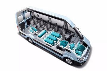 现代发布H350氢动力概念车 4分钟充满能量