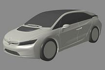 疑似宝马i5专利图曝光 或采用对开门/悬浮式车顶设计