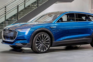 宝马i系列有了新对手 奥迪e-tron首款车或为SUV