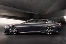 全新雷克萨斯LS明年日本上市 将推氢燃料版