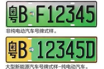 公安部:12月1日起 新能源汽车专用号牌将在5个城市试点启用
