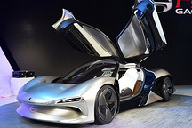 又一款纯电动跑车问世 广汽传祺EnLight概念车发布