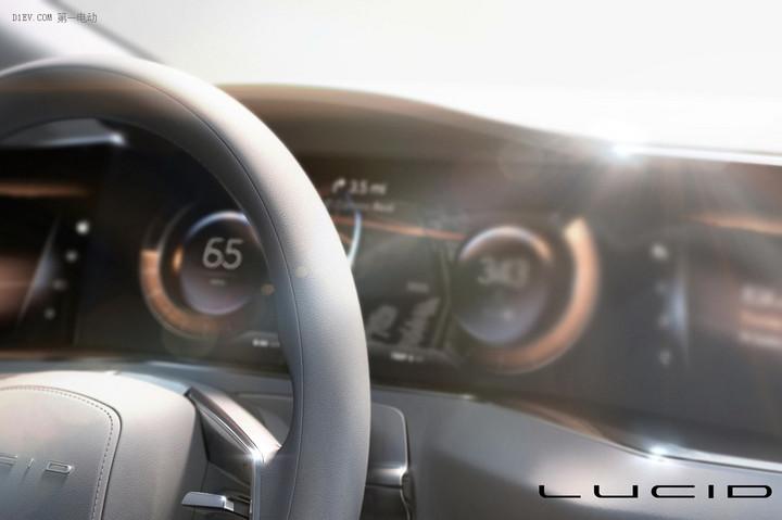 性能优于特斯拉 美国Atieva旗下Lucid Vision电动车预告图发布