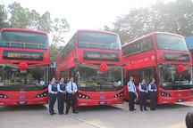 从伦敦到深圳,比亚迪纯电动双层大巴K8S中国首发