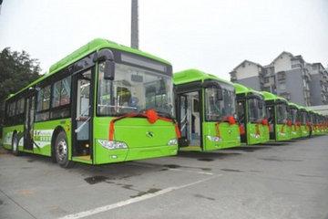 泸州月底将新增77台新能源公交车
