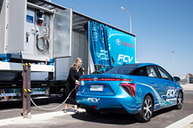 丰田澳洲研发移动氢燃料补给站 供应Mirai FCV