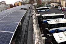 上海首个太阳能充电公交场站正式投入运营