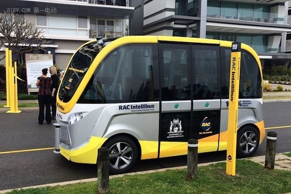 RAC Intellibus的无人驾驶巴士
