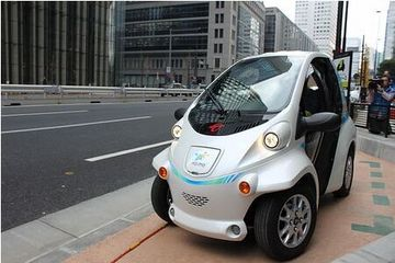 日本国交省首次尝试在国道出租超小型电动汽车