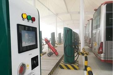 京津冀地区最大公交充电站投入运营 可同时容纳80辆公交充电