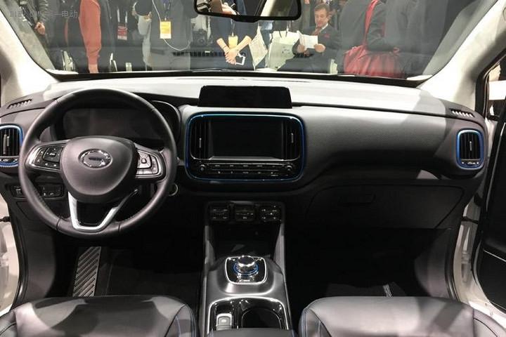 最大续航310km有望3月上市 广汽传祺纯电动车GE3北美车展发布