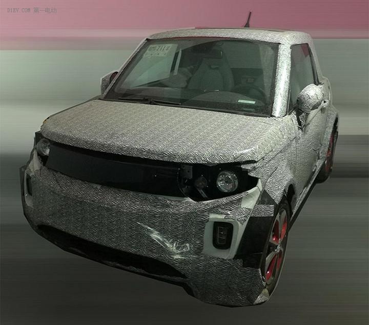 或1季度推出 ARCFOX-1硬顶版量产车谍照