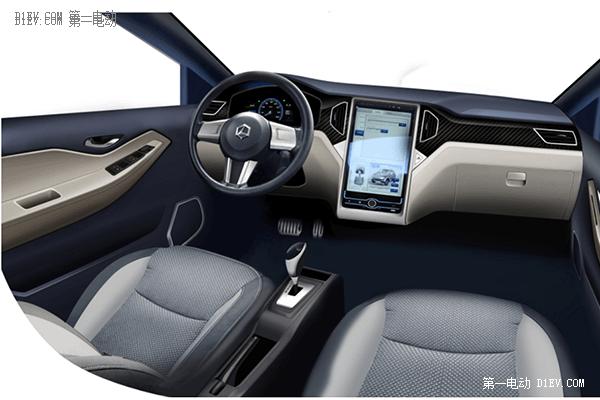 漂亮的实力派 雷丁S50电动SUV新车上市图解