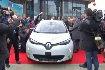法国总理驾到,雷诺自动驾驶示范区落户中法武汉生态示范城