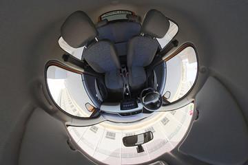 VR试 | 将于济南车展上市 雷丁D80i锂电版VR内饰详解