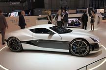 2017日内瓦车展:Rimac新款电兽Concept One马力提升6秒破200