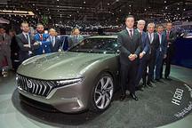 正道集团将携H600混合动力概念车亮相2017上海国际车展