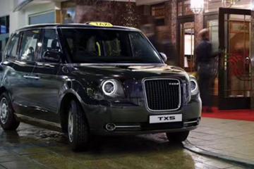 吉利汽车投3亿英镑建厂 生产新一代伦敦出租车