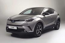 丰田C-HR国内最新谍照 混合动力车型有望同步国产