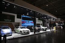 高低速新能源车齐聚一堂 南京车展探馆先睹为快