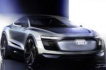 奥迪将推首款纯电动SUV硬杠特斯拉Model X