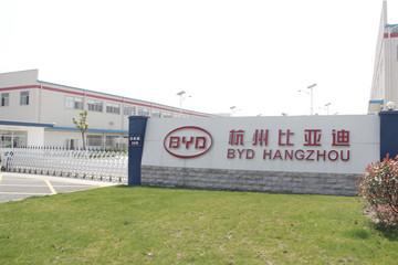 探访比亚迪杭州电动客车生产基地 产能利用率超过80%