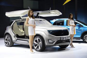 定位自动驾驶,云度新能源智能跨界电动SUV概念车Xπ亮相