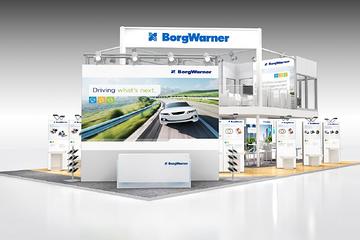 博格华纳携众多电气化产品组合亮相上海车展
