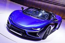 设计升级量产将近 前途K50惊艳亮相2017上海展