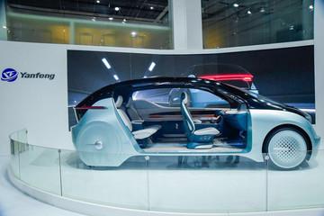 延峰携概念车YF17亮相上海车展,四种驾乘模式随心切换