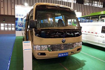 陆地方舟商用车亮相2017中国(南京)国际节能与新能源汽车展