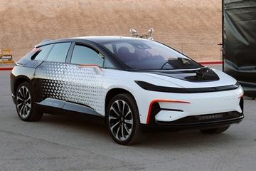 专利显示法拉第未来电动车彻底抛弃了车钥匙